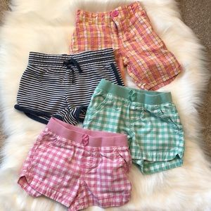 Other - Lot of 4 toddler girl shorts/ size 4T
